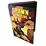 Boxes In Action Comic Book Spawn-Folio Storage Holder - Officially Licensed Spawn Art