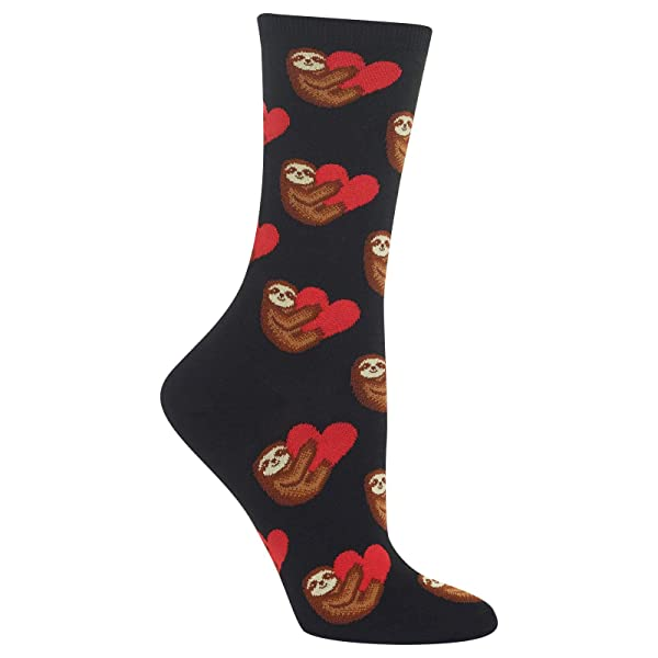 Hot Sox Girls Animal Series Novelty Casual Crew Socks