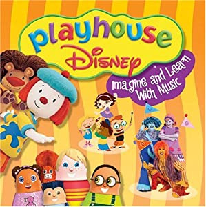 Various artists playhouse disney imagine and learn with music 6x8