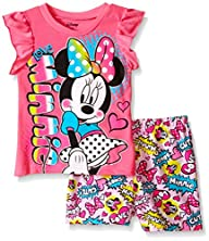 Disney Girls' Minnie Mouse Printed Sh…