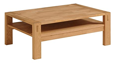 Adam Solid Oak Coffee Table