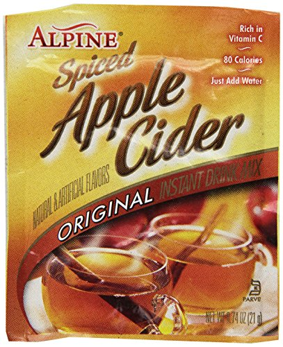 Alpine Spiced Cider Original Apple Flavor Drink Mix , 60 ct