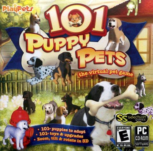 101 PUPPY PETS - VIRTAL PET GAME