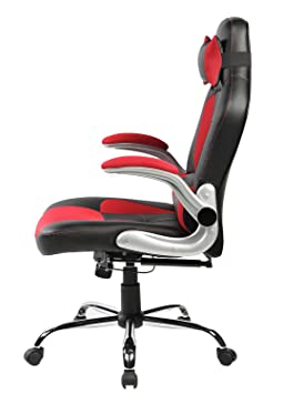 Enjoyable Merax High Back Ergonomic Pu Leather Office Chair Racing Ocoug Best Dining Table And Chair Ideas Images Ocougorg
