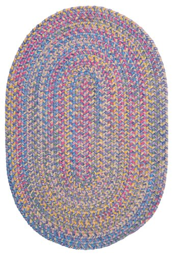 Botanical Isle Polypropylene Braided Sample Swatch Rug, 14