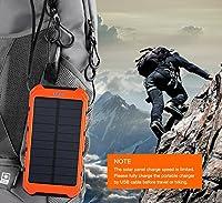 Solar Charger, Matone® Portable 10000mA...