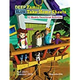 Deep Blue Family Take-Home Sheets: 52 Weekly Devotional Activities