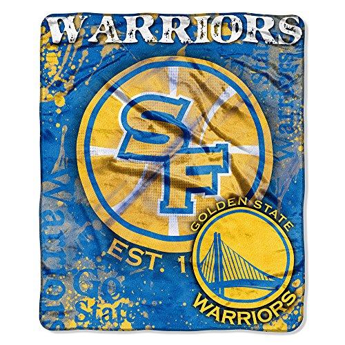 Golden State Warriors Blanket Warriors Fleece Blanket