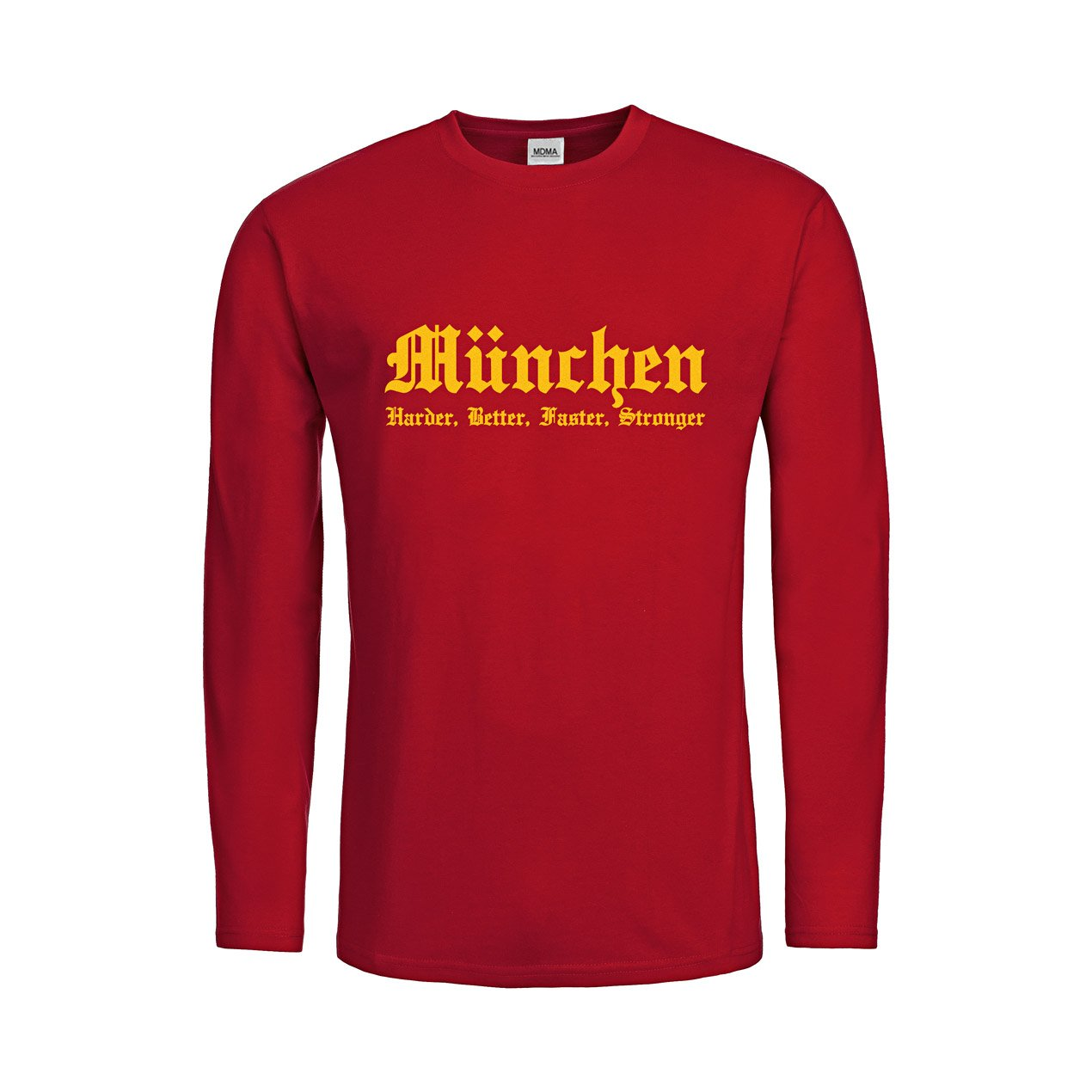 MDMA Men T-Shirt Longsleeve München Harder, Better, Faster, Stronger mdma-mtls00287 günstig online kaufen