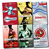 Charlie Higson Young Bond Series Collection Charlie Higson 6 Books Set (SilverFin, Blood Fever, By Royal Command, Hurricane Gold, Double or Die, Danger Society: The Young Bond Dossier)