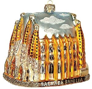 Amazon.com - Sagrada Familia Cathedral Polish Glass Christmas Tree