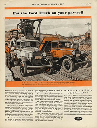 Put the Ford Truck on your pay-roll ad 1931 flatbed & dump body SEP (Flatbed Dump compare prices)