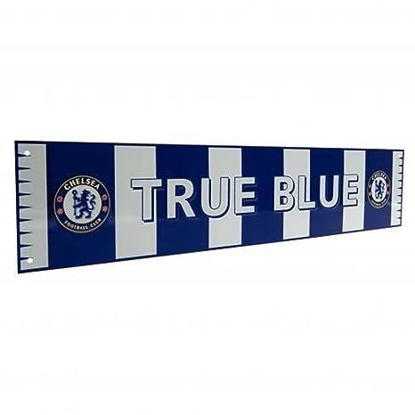 Chelsea F.C. Bar Scarf Sign