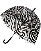 FULTON フルトン birdcage Zebra ゼブラ ビニール傘 バードケージ アンブレラ