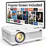 QKK Portable LCD Projector 2800 Lumens [100