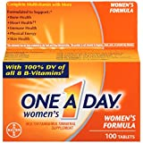 One A Day Womens Formula Tablets 100