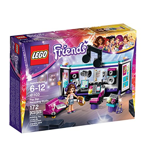 LEGO Friends 41103 Pop Star Recording Studio Building Kit JungleDealsBlog.com