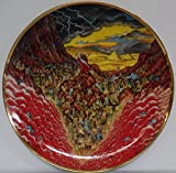 "Franklin Mint Bill Bell Porcelain ""PARTING OF THE SEA"" 8"" Plate"