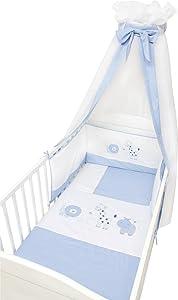 4tlg. Bettwäsche Set Dschungel Farbe Blau    Kundenbewertung und weitere Informationen