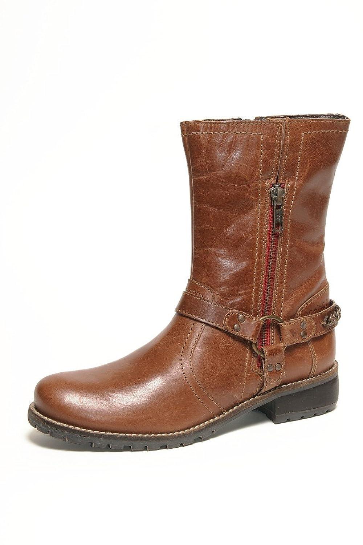 Gabor Mima Kids Schuhe Stiefel Leder 351 02 wasserabweisend cognac Buff burnish waxy, Schuhe Kinder:31 online bestellen