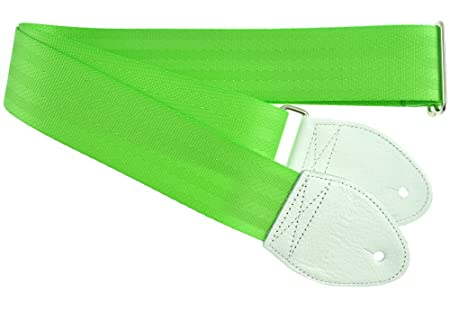 Green Electric Guitar Guitar Strap Lime Green