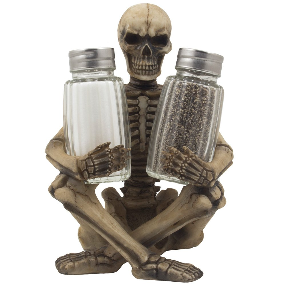 skeleton-salt-and-pepper-holder