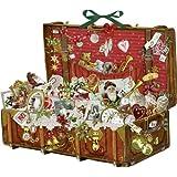 Coppenrath 71340 Nostalgischer Weihnachtskoffer, Adventskalender
