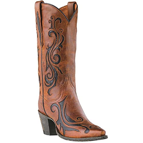 Dan Post Womens Inlay Western Boot