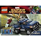 Includes 3 Minifigures: Iron Man Loki And Hawkeye - LEGO Loki's Cosmic Cube Escape 6867