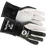 Welding Gloves, TIG, L, PR (Color: Black/Gray, Tamaño: Large)