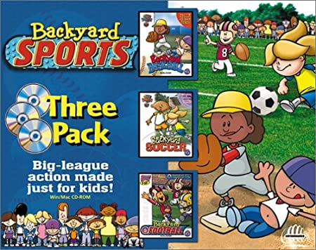 Backyard Sports Three Pack