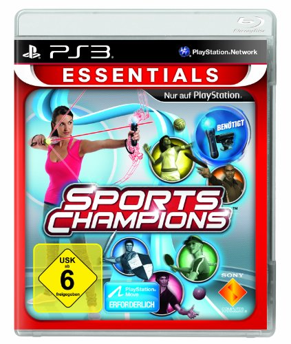 Sports Champions  Move   Essentials  -  PlayStation 3
