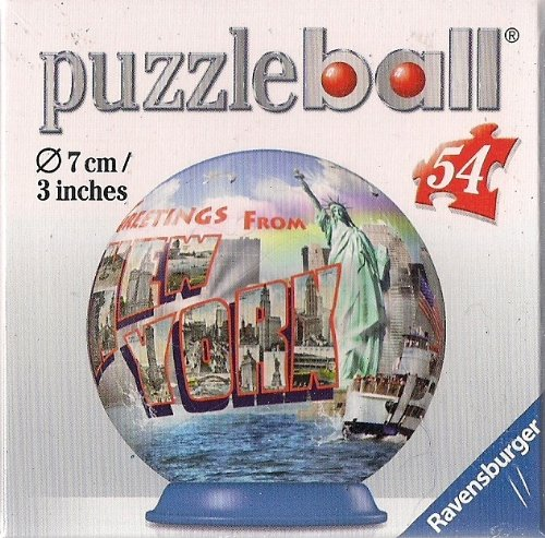 Ravensburger 54 Piece New York Puzzleball - Greetings From New York - 1