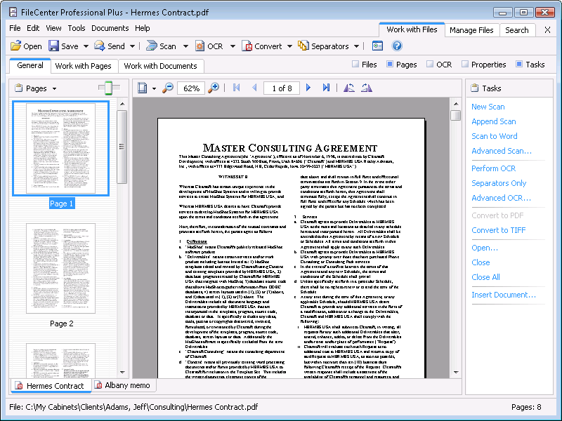 how to highlight in secured pdf file