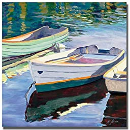 Morning Calm II by Kay Carlson Premium Gallery-Wrapped Canvas Giclee Art (Ready-to-Hang)
