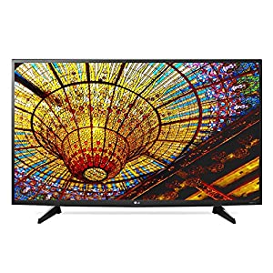 LG Electronics 43UH6100 / 43UH610A 43-Inch 4K Ultra HD Smart LED TV (Certified Refurbished)