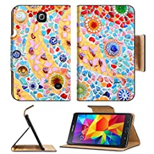 buy Samsung Galaxy Tab 4 7.0 Inch Flip Pu Leather Wallet Case Mosaic Wall Decorative Ornament From Ceramic Broken Tile Image 11755198 By Msd Customized Premium