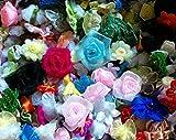 (マイホット) MyHot DIY 手芸 福袋 造花 飾り フラワー リボン セット 100 個