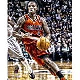 Damian Lillard Portland Trail Blazers Autographed 16'' x 20'' Effect Photograph - Mounted Memories Certified