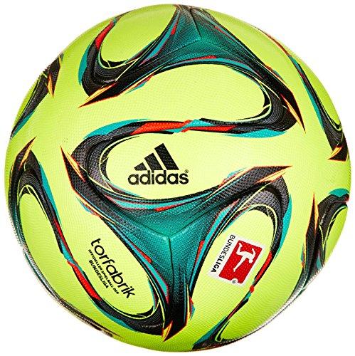 Adidas Germany Football Match F93674 - Pallone da calcio, taglia: 5, colore: giallo/verde