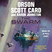 The Swarm Audiobook by Orson Scott Card, Aaron Johnston Narrated by Stefan Rudnicki, Vikas Adam, Stephen Hoye, Arthur Morey, Paul Boehmer