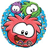 "Club Penguin Colorful Characters 18"" Mylar Foil Balloon"