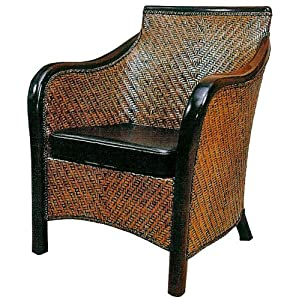 New Pacific Direct Manila Chair, Mahogany