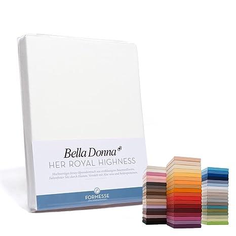 Belladonna - Sábana bajera, algodón mezcla, 0111 natur, 180x200 cm - 200x220 cm