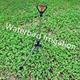 Generic 1/2 Inch Plastic Butterfly Sprinkler With 4 Leg Spikes Disc Type Nozzle For Garden And Lawn Irrigation...
