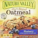 Nature Valley  Blueberry Soft-Baked Oatmeal Squares, 7.44 Ounce