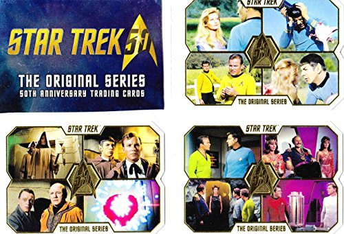 2016 Star Trek The Original Series 50th Anniversary Complete 80 Card Base Set