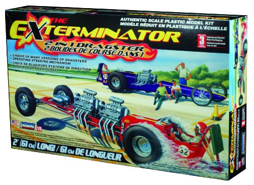 Lindberg Exterminator Dragster (Dragster Model Kits compare prices)