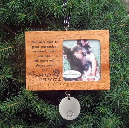 Pawprints Left By You - Pet Memorial Ornament