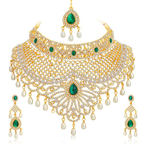 Sukkhi-Incredible-Gold-Plated-AD-Necklace-Set-for-Women